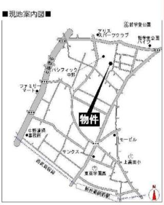 鈴木コーポの道案内