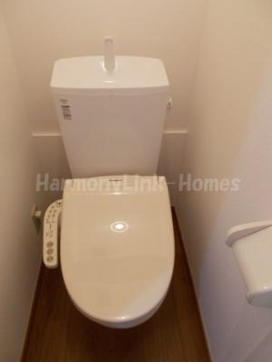 ソフィアシャングリラのトイレもきれいです