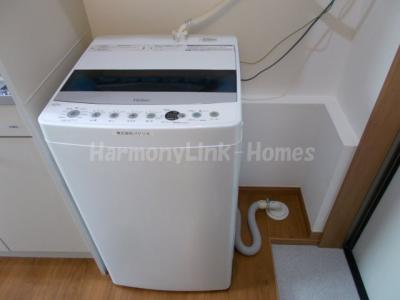 ソフィアシャングリラの室内洗濯機☆