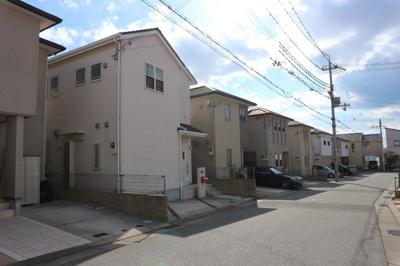 【前面道路含む現地写真】■神戸市垂水区千代ヶ丘1丁目 中古戸建