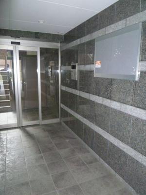 オートロック完備のマンション