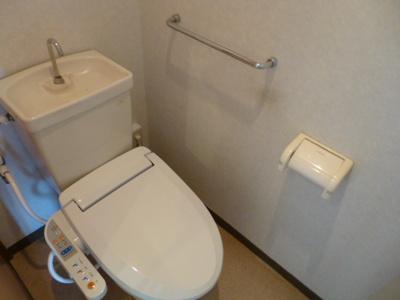 【トイレ】上岡田ガーデンハイツA