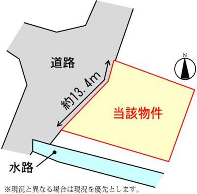 【区画図】大津区天満売土地