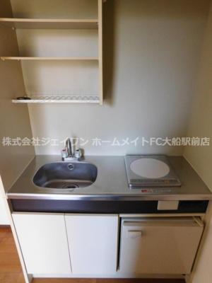 【キッチン】スワンパークハイツ