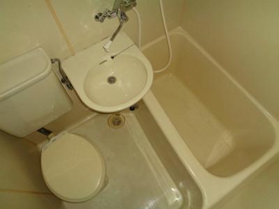 【浴室】ハイツピアグリーン