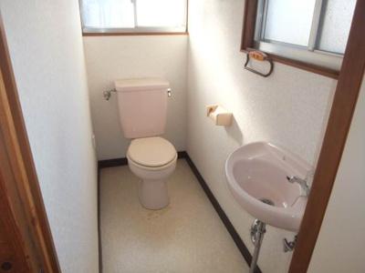 【トイレ】花の町住宅