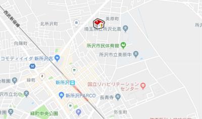 【地図】レオパレスルーブルⅡ(44067-401)