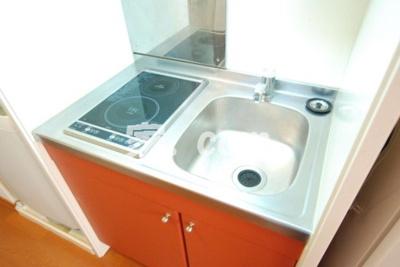 【キッチン】レオパレスルーブルⅡ(44067-401)