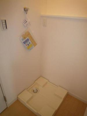 バーミープレイス大塚の室内洗濯機置き場