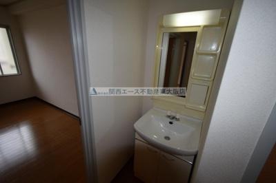 【洗面所】シャトー西村