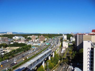 東側バルコニーからの眺望★