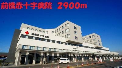前橋赤十字病院まで2900m