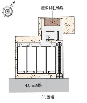 【区画図】サナサルーテ ホリエ