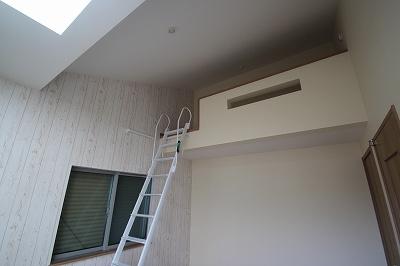 実際に建築したお家のロフトになります。 ロフトはベッド代わりに利用したり、収納として利用したりと多用途につかえ便利ですよね♪