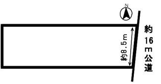【区画図】53795 岐阜市柳津町丸野土地
