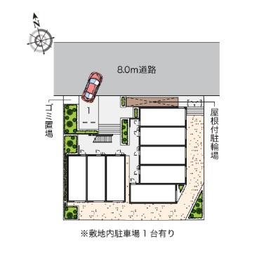 【駐車場】ヴィアロ高島平レジデンスA(59329-105)