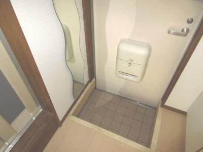 【玄関】羽沢ハイツ