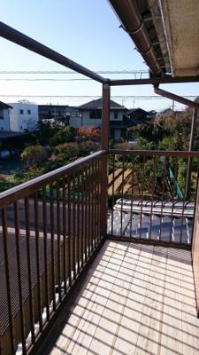 【バルコニー】鳥取市秋里中古戸建て 二世帯向け