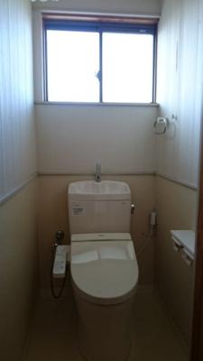 2階のトイレです