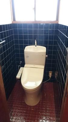 1階にはトイレが2つあります