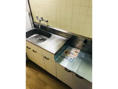 使いやすいキッチンです ※仕様が異なる場合は現地を優先します。