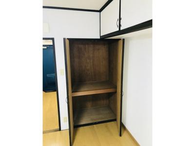 ちょっとした収納スペースも充実しています ※仕様が異なる場合は現地を優先します。
