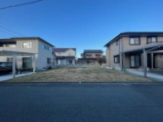 【外観】安曇川町田中ニュータウン近く南向き62坪土地