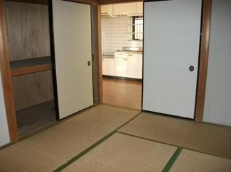 DKの隣接した和室