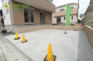 駐車スペース2台分!!