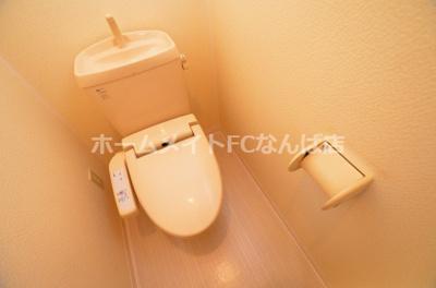 【トイレ】ブリリアントコート心斎橋イースト