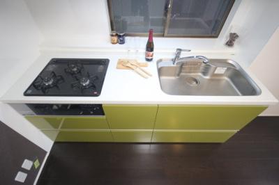 【キッチン】ロータリー六甲