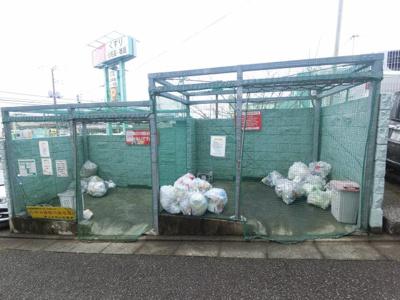 ゴミ置き場スペースです。 共用部分も管理人さんにより綺麗に保たれています。