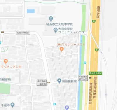 周辺の地図です。 中学校が近いとお子様も安心ですね。