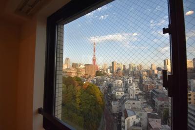 【展望】東京タワーが見える 高級賃貸2LDK  パークアビタシオン麻布十番