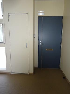 落ち着いた印象の玄関ドアです