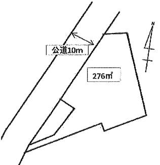 敷地276㎡(83坪)