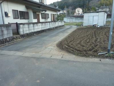 【前面道路含む現地写真】黒岩 第2期