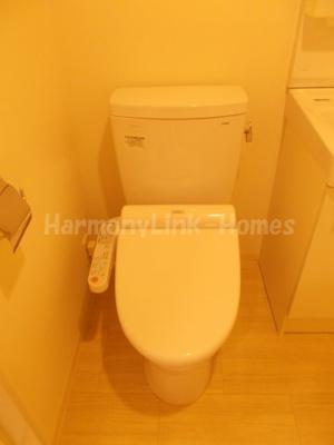 スカイコートパレス西巣鴨のコンパクトで使いやすいトイレです