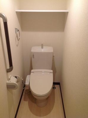 【トイレ】クレイノカサブランカ弐番館