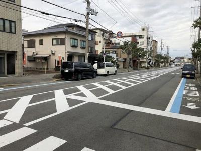 【前面道路含む現地写真】堺市堺区材木町東 売地