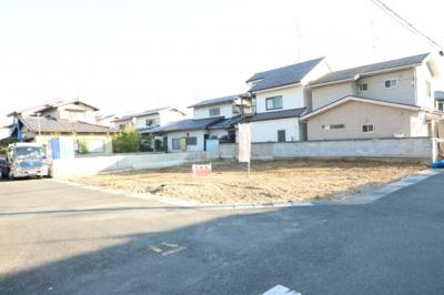 土地ゆとりの約69.32坪・角地・区画整う閑静な住宅地