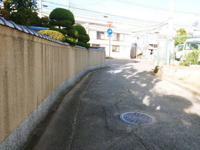 【前面道路含む現地写真】Freerife下坂部Ⅱ 2号地
