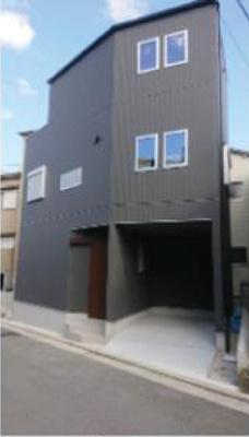 スタイリッシュなデザイン!!お洒落な新築戸建です♪310号線からちょっと入った所の閑静な住宅街です♪