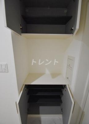 【玄関】ルシマン月島