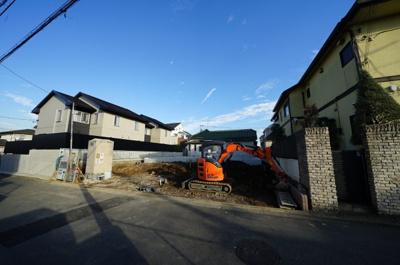 【外観】保土ヶ谷区新桜ケ丘1丁目 全2棟新築戸建て【成約済】
