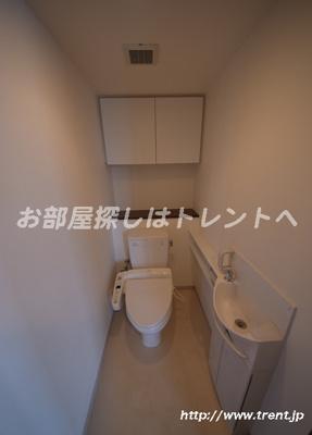 【トイレ】ソアールタワー市ヶ谷の丘