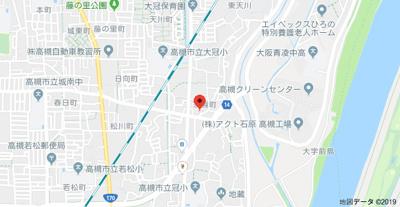 【地図】須賀町貸家 (株)Roots