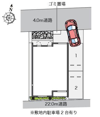 【地図】レオネクスト小緑