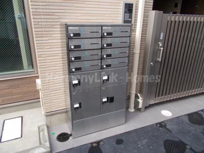 ウッドサイド池袋の郵便ボックス(宅配ボックス付き)