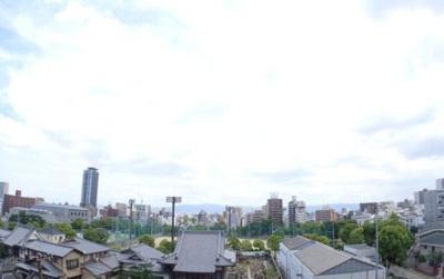 シャリエ真田山公園 眺望は絶景です